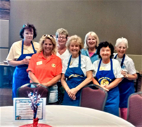 Pancake Breakfast 2017 - Servers - Cape May Kiwanis Club