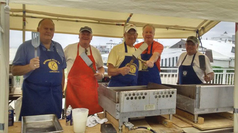 Pancake Breakfast 2017 - Cooks - Cape May Kiwanis Club