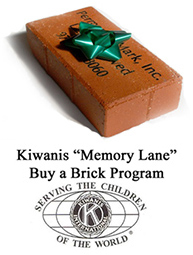 "Kiwanis ""Memory Lane"" Buy a Brick Program"