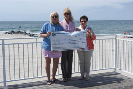 Donation to Camp Cape May - Cape May Kiwanis Club