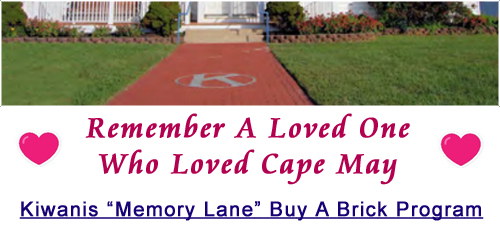 Memory Lane Buy a Brick Fundraiser - Kiwanis Cape May