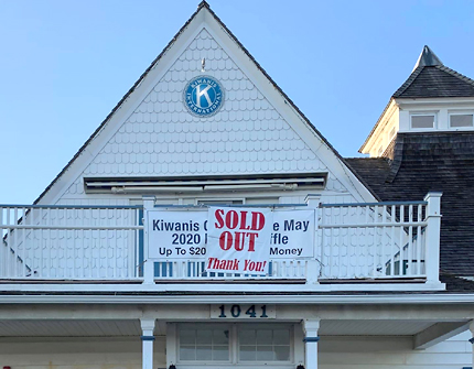 Kiwanis Cape May Raffle Sold Out