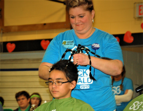 Brave a Shave for Kids with Cancer - During