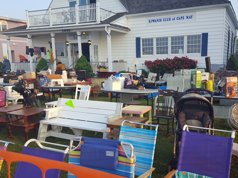 Memorial Day Yard Sale Kiwanis